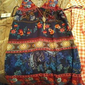 A. Byer Dress (Blue)